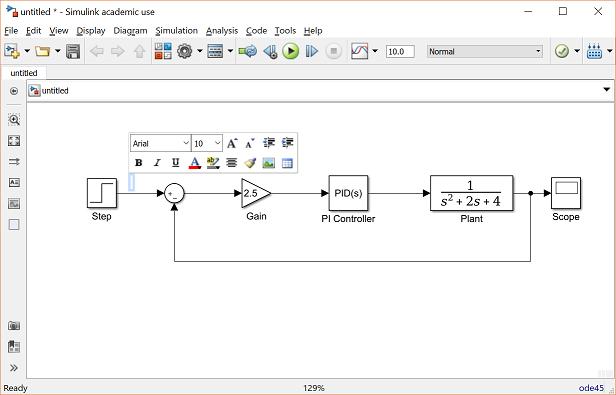Control Tutorials for MATLAB and Simulink - Simulink Basics
