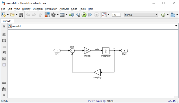 Control Tutorials for MATLAB and Simulink - Cruise Control: Simulink ControlControl Tutorials for MATLAB and Simulink