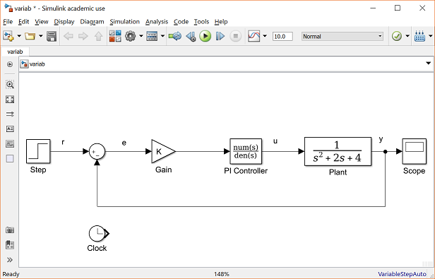 Control Tutorials for MATLAB and Simulink - Simulink Basics Tutorial