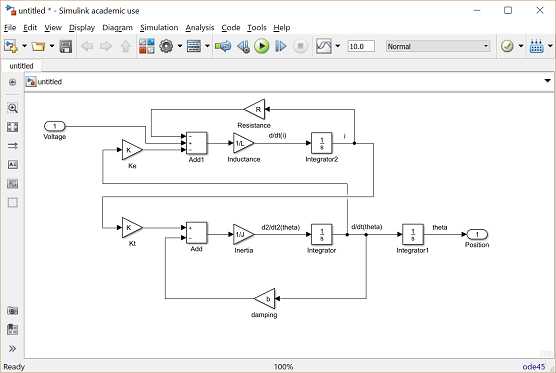 Control Tutorials for MATLAB and Simulink - Motor Position