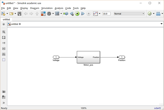 Control Tutorials For Matlab And Simulink Motor Position Simulink Modeling