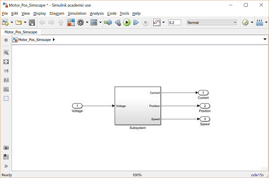 Control Tutorials for MATLAB and Simulink - Motor Position: Simulink
