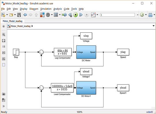 Control Tutorials for MATLAB and Simulink - Motor Speed