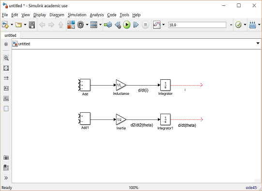 Control Tutorials For Matlab And Simulink Motor Speed Simulink Modeling