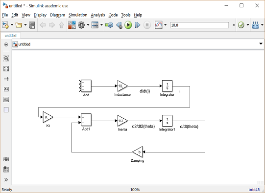 Control Tutorials For Matlab And Simulink Motor Speed